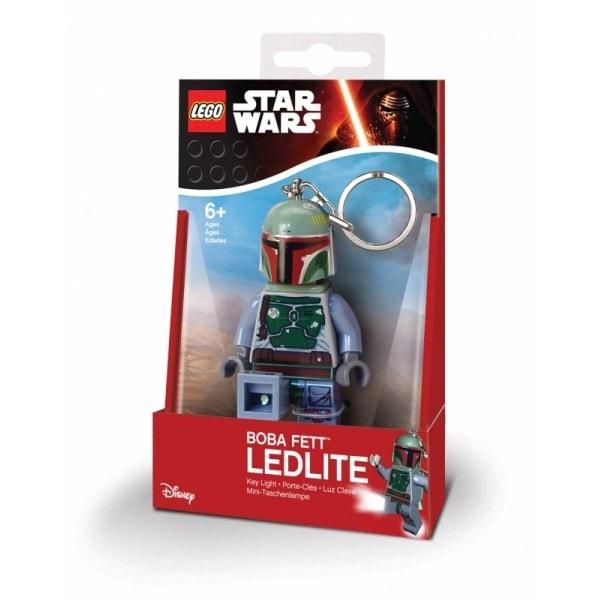 e535f073095 ABC Toys - LEGO Star Wars Boba Fett svítící klíčenka - Přívěšky na ...