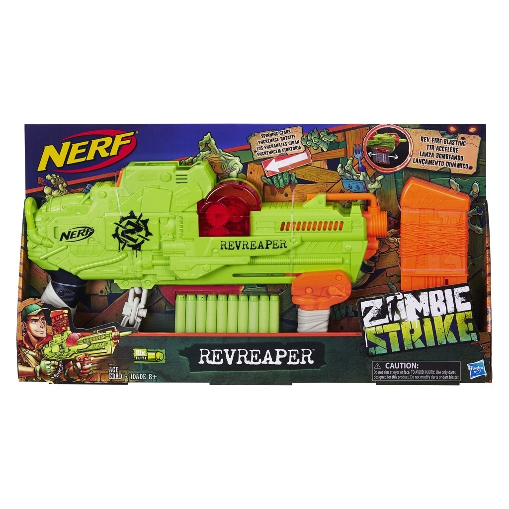1d831bea6807 ABC Toys - Nerf Zombie Revreaper - Hasbro Nerf - Detské zbrane ...