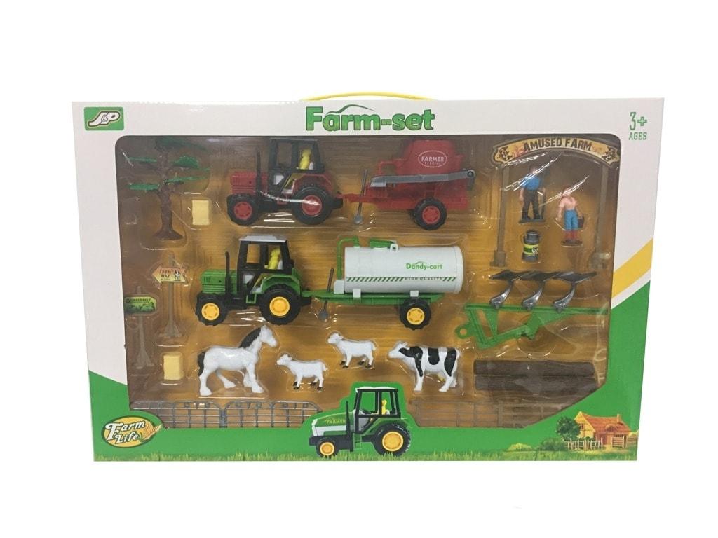 86b31d6046f0 ABC Toys - Farmářský set se zvířátky a traktory - Alltoys - Modely ...