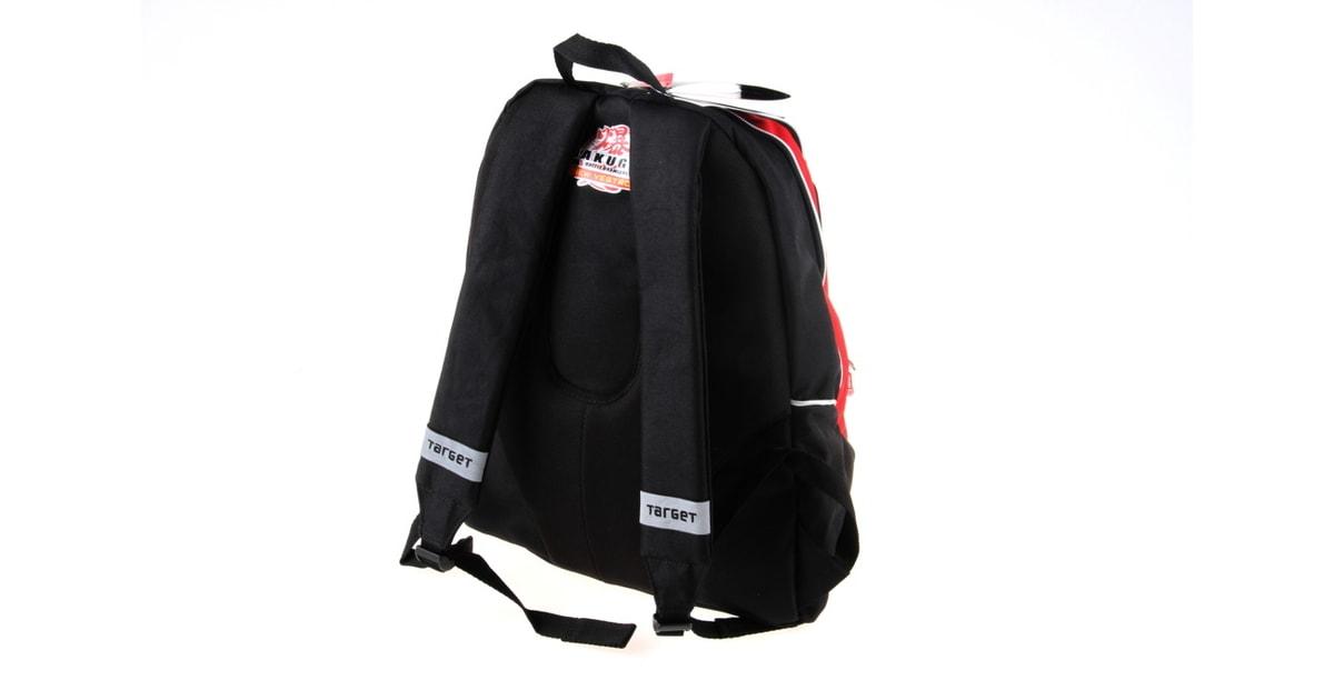 fe1e2513a86 ABC Toys - Batoh Bakugan černo červený malý - Target - Školní batohy -  Školní potřeby - Kdo si hraje