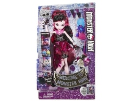 Mattel Monster High Monsterka s doplňky do fotokoutku Draculaura