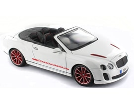 Bburago Bentley Continental Supersports Convertible ISR 1:18 PLUS