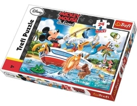 Mickey Mouse puzzle maxi 24