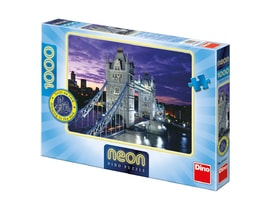 Dino TOWER BRIDGE 1000 neon Puzzle