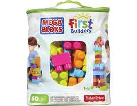 Mega Bloks First Builders Big Building bag unisex 60ks