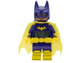 LEGO Batman Movie Batgirl - hodiny s budíkem