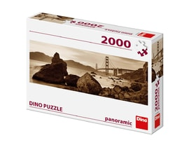 Dino POHLED NA GOLDEN GATE 2000 panoramic Puzzle NOVÉ