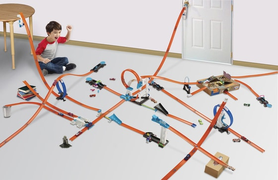 Hot Wheels Track builder set doplňků