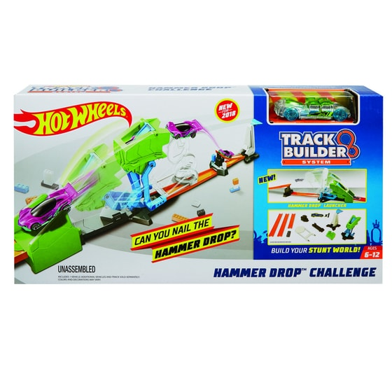 Hot Wheels track builder kaskadérská výzva